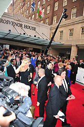 © licensed to London News Pictures. London, UK  22/05/11  red carpet the BAFTA Television Awards at The Grosvenor Hotel in London . Please see special instructions for usage rates. Photo credit should read AlanRoxborough/LNP
