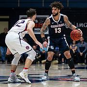 Mar 02, 2019 Moraga, CA  Gonzaga guard Josh Perkins (13) set the play during the NCAA Men's Basketball game between the Gonzaga Bulldogs and the Saint Mary's Gaels 69-55 win at McKeon Pavilion Moraga Calif. Thurman James / CSM