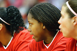 28 January 2007: Brea Banks and Cat Graham. Before a record crowd or nearly 4200, the Bradley Braves were defeated by the conference leading (9-0) Redbirds of Illinois State University by a score of 55-47 at Redbird Arena in Normal Illinois.