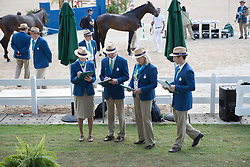 Judges<br /> Final Horse inspection Eventing<br /> Olympic Games Rio 2016<br /> © Hippo Foto - Dirk Caremans<br /> 09/08/16