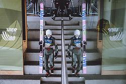 02.01.2021, Bergiselschanze, Innsbruck, AUT, FIS Weltcup Skisprung, Vierschanzentournee, Innsbruck, Qualifikation, im Bild Piotr Zyla (POL) // Piotr Zyla of Poland before his Qualification Jump for the Four Hills Tournament of FIS Ski Jumping World Cup at the Bergiselschanze in Innsbruck, Austria on 2021/01/02. EXPA Pictures © 2020, PhotoCredit: EXPA/ JFK