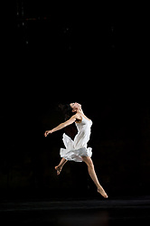 """© Copyright licensed to London News Pictures. 26/10/2010. Ruth Amarante as Iphigenie. """"Iphigenie auf Tauris"""", Tanztheater Wuppertal Pina Bausch, Sadler's Wells. A rare performance of Gluck's masterpiece."""