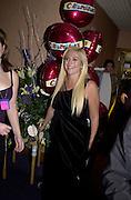 Vanessa Feltz, Carlton TV Celebrity auction after-party. 12 October 2000 © Copyright Photograph by Dafydd Jones 66 Stockwell Park Rd. London SW9 0DA Tel 020 7733 0108 www.dafjones.com