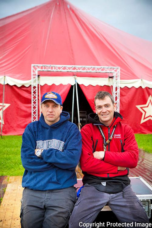 366194-Organisatoren Plugfestival Nijlen - Nic Keirsmakers en Nick Mathé - Boshoek Nijlen