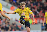 Adam Clayton during the Sky Bet Championship match between Bristol City and Middlesbrough at Ashton Gate, Bristol, England on 16 January 2016. Photo by Daniel Youngs.