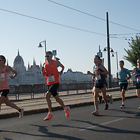 People participate the Budapest Half Marathon across the streets in Budapest, Hungary on Aug. 29, 2021. ATTILA VOLGYI