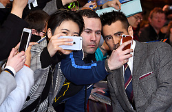 Colin Farrell with fans during the european premiere of Dumbo held at Curzon Mayfair, London. Photo credit should read: Doug Peters/EMPICS