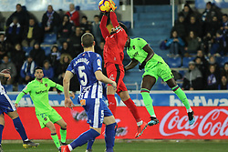 February 11, 2019 - Vitoria, Alava, Spain - Pacheco of Alaves in action during La Liga Spanish championship, , football match between Alaves and Levante, February 11th, in Mendizorroza Stadium in Vitoria, Spain. (Credit Image: © AFP7 via ZUMA Wire)