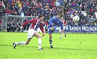 FOTBALL, 15062003, ALFHEIM, TROMSØ/ TIL-LYN/  0-1  /LYNS ? MED SKUDD FORBI MÅL I 2-OMGANG<br /> FOTO: KAJA BAARDSEN/DIGITALSPORT