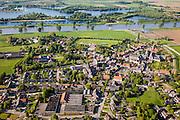 Nederland, Noord-Brabant, Gemeente Oss, 27-05-2013; Maaskant (of Maasland), het dorp Megen.<br /> luchtfoto (toeslag op standaardtarieven);<br /> aerial photo (additional fee required);<br /> copyright foto/photo Siebe Swart.
