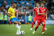 Casemiro of Brazil during the 2018 FIFA World Cup Russia, Group E football match between Erbia and Brazil on June 27, 2018 at Spartak Stadium in Moscow, Russia - Photo Thiago Bernardes / FramePhoto / ProSportsImages / DPPI
