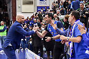 Joan Penarroya, Tifosi San Pablo Burgos<br /> Banco di Sardegna Dinamo Sassari - San Pablo Burgos<br /> Round of 16 Gara 1<br /> FIBA BCL Basketball Champions League 2019-20<br /> Sassari, 04/03/2020<br /> Foto L.Canu / Ciamillo-Castoria