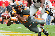 KNOXVILLE, TN - OCTOBER 10, 2015 - wide receiver Jauan Jennings #15 of the Tennessee Volunteers during the game between the Georgia Bulldogs and the Tennessee Volunteers at Neyland Stadium in Knoxville, TN. Photo By Craig Bisacre/Tennessee Athletics