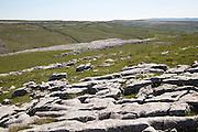 Limestone pavements at Malham, Yorkshire Dales national park, England, UK