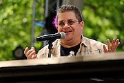 Photos of comedian Patton Oswalt, celebrity chef Eddie Huang and celebrity chef Tom Colicchio at The Great GoogaMooga festival at Prospect Park in Brooklyn, NY. May 20, 2012. Copyright © 2012 Matthew Eisman. All Rights Reserved.