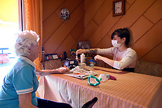 Home Nurse Old Person During Covid-19 - 18 April 2020