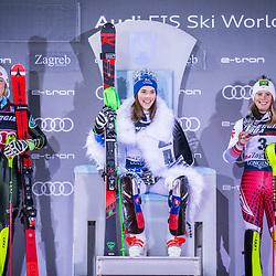 "20200104: CRO, Alpine Ski - Audi FIS Ski World Cup ""Snow Queen Trophy"", Women's Slalom"
