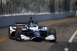 March 11, 2018 - St. Petersburg, Florida, United States of America - March 11, 2018 - St. Petersburg, Florida, USA: Max Chilton (59) battles for position during the Firestone Grand Prix of St. Petersburg at Streets of St. Petersburg in St. Petersburg, Florida. (Credit Image: © Justin R. Noe Asp Inc/ASP via ZUMA Wire)