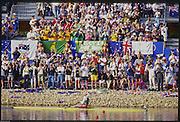 Sydney. AUSTRALIA, Women's, Olympic, Single Sculls Gold Medalist: Ekaterina [KHODOTOVICH] KARSTEN. 2000 Olympic Games - Olympic Regatta; Penrith, NSW. [Mandatory Credit: Peter Spurrier: Intersport Images] 2000 Olympic Rowing Regatta00085138.tif