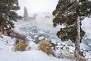 Gardiner River at minus 25 degrees F