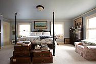 The Portland, Oregon home of Wendy Burden, author of  the memoir, Dead End Gene Pool. The master bedroom.