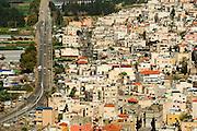 Israel, Carmel Mountain, the Arab Israeli town of Fureidis (also Freidis)