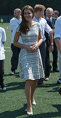 Duke and Duchess of Cambridge at Bacon's College 26-7-12