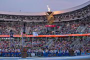 The Minsk 2019 European Games closing ceremony at the Dinamo Stadium on the 30th June 2019 in Minsk, Belarus.