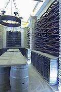 bottles on shelves herdade do esporao alentejo portugal