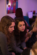 Bertie Brandes, Amelia Abraman, The opening of the Other Club.  theotherclub.co.uk , Kingly court, Soho, London. 27 September 2013