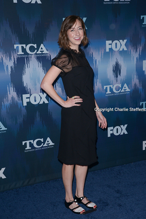 KRISTEN SCHAAL at the Fox Winter TCA 2017 All-Star Party at the Langham Hotel in Pasadena, California