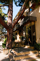 Ark Row, Designer shopping, Tiburon, California, USA.  Photo copyright Lee Foster.  Photo # california108048