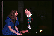 Marina Killery and Guy Faber at Piers Gaveston Ball. Oxford Town Hall.1981 approx© Copyright Photograph by Dafydd Jones 66 Stockwell Park Rd. London SW9 0DA Tel 020 7733 0108 www.dafjones.com