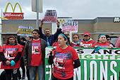 News-McDonald's Protest-Mar 10, 2020