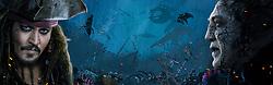 RELEASE DATE: May 26, 2017 TITLE: Pirates Of The Caribbean: Dead Men Tell No Tales STUDIO: Disney Enterprises DIRECTOR: Joachim Ronning, Espen Sandberg PLOT: Captain Jack Sparrow searches for the trident of Poseidon STARRING: Poster Art. (Credit: Disney Enterprises/Entertainment Pictures/ZUMAPRESS.com)