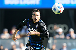 October 21, 2018 - San Jose, California, United States - San Jose, CA - Sunday October 21, 2018: Jimmy Ockford during a Major League Soccer (MLS) match between the San Jose Earthquakes and the Colorado Rapids at Avaya Stadium. (Credit Image: © Casey Valentine/ISIPhotos via ZUMA Wire)