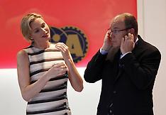 Prince Albert II and Charlene Princess of Monaco