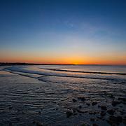 Today's  winter sunrise at Narragansett Town Beach,  .  May  18, 2013.  #Sunrise #beach #Waves #surf #rhodeisland