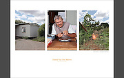 Dawid Van Der Merwe. Lives in Orania since 2006. Dawid has sold his farm to come to Orania He produces dried fruits and some spices, and he's very concerned about his pumpkin that he's protecting from the sun so it doesn't whiten, it will soon be presented to a vegetable competition in town.
