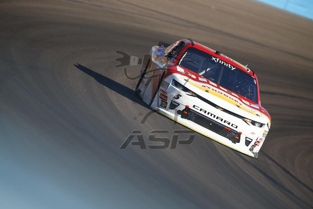 November 11, 2017 - Avondale, Arizona, USA: Michael Annett (5) brings his car through the turns during the Ticket Galaxy 200 at Phoenix Raceway in Avondale, Arizona.