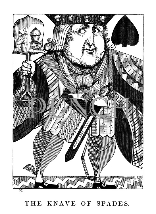 The Knave of Spades.