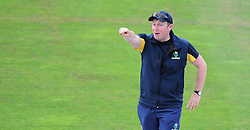 Robert Croft, head coach of Glamorgan, gives directions.  - Mandatory by-line: Alex Davidson/JMP - 22/07/2016 - CRICKET - Th SSE Swalec Stadium - Cardiff, United Kingdom - Glamorgan v Somerset - NatWest T20 Blast