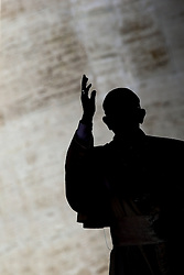 September 7, 2016 - Vatican City State (Holy See) - POPE FRANCIS during his wednesday general audience in St. Peter's Square at the Vatican. (Credit Image: © Evandro Inetti via ZUMA Wire)