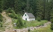 Old cottage at Jaksic mlin, Durmitor national park, Montenegro
