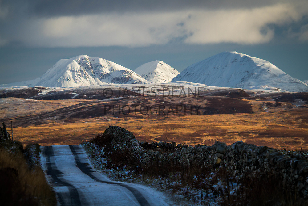 Not many locations on Islay allow one to see all 3 Paps of Jura at once. This is a telephoto view from the Gruinart to Carnduncan road, way out West on the Rhinns