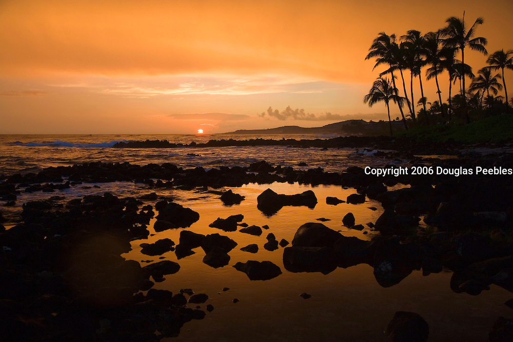 Sunset, Poipu,Kauai, Hawaii