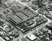 1959 Aerial of Fox Studios in Hollywood