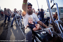 Parts & His Son. Chillicothe, OH 1993<br /> <br /> Limited Edition Print from an edition of 30. Photo ©1993 Michael Lichter.