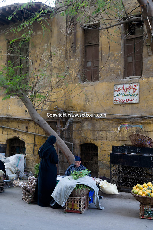Egypt . Cairo : GAWAR AL LALA  mosque  in Bab al Wazir area in islamic Cairo   Egypt
