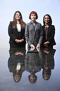 SHOT 12/4/19 11:34:03 AM - McGuane & Hogan, P.C., a Colorado family law firm located in Denver, Co. Includes attorneys Kathleen Ann Hogan, Halleh T. Omidi and Katie P. Ahles. (Photo by Marc Piscotty / © 2019)